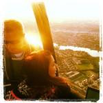 Ballonflyvning over Silkeborg