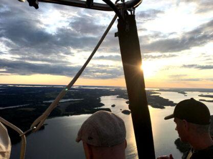 Ballongflygning i Stockholmsområdet